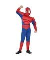 Spinnenheld kostuum voor jongens
