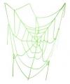 Spinnenweb groen 100 cm