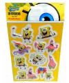 Spongebob 3d stickers op a4