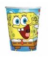 Spongebob thema bekers 8 stuks