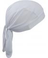 Sport bandana volwassen wit