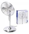 Staande ventilator chrome 40 cm