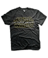 Star wars heren t shirt zwart