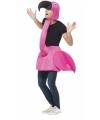 Step in flamingo kostuum voor volwassenen