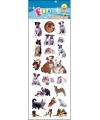 Stickervel hondjes honden