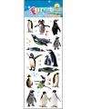 Stickervel pinguins