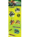 Stickervel teenage ninja turtles