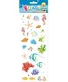 Stickervel tropische zeedieren
