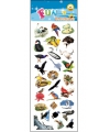 Stickervel vogels