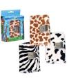 Stoffen giraffe dagboek met slot