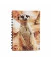 Stokstaartje notitieboek 3d 21cm