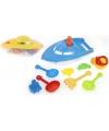Strand set boot met speelgoed 12 delig