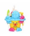 Strand speelgoed emmer geel met accessoires