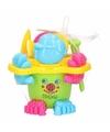 Strand speelgoed emmer groen met accessoires