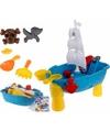 Strand speelgoed piratenschip met accessoires
