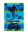 Strandlaken california blue 140 x 200 cm
