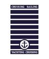 Strandlaken cruise 95 100 x 175 cm