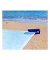Strandlaken klem blauw