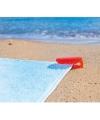 Strandlaken klem rood