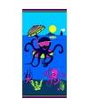 Strandlaken octopus 70 x 140 cm