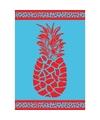 Strandlaken pineapple 140 x 200 cm