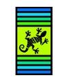 Strandlaken sandy gekko 95 100 x 175 cm