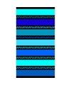 Strandlaken twisty blue 95 100 x 175 cm