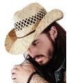 Stro cowboy strand hoed