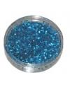 Strooiglitters blauw