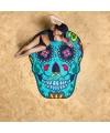 Sugar skull strandlaken 150 cm