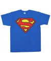 Superman logo t shirt heren
