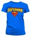 Superman t shirt dames