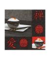 Sushi servetten 20 stuks