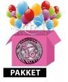 Sweet 16 groot feestpakket