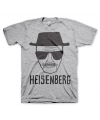 T shirt breaking bad heisenberg grijs