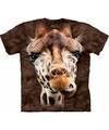 T shirt giraf bruin