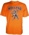 T shirt holland met zwarte leeuw