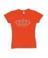 T shirt holland voor dames met kroontje