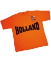 T shirt met holland en badge
