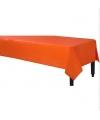 Tafelkleed oranje 140 x 240 cm