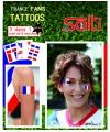 Tattoos frankrijk 9 stuks