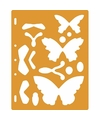 Tekensjabloon vlinders