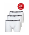 Ten cate heren short 2 1 gratis wit