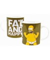 The simpsons mok fat and happy