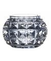 Theelichthouder paris lichtblauw glas 7 4 cm