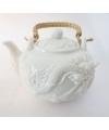 Theepot chinese draak met zeefje 1 liter
