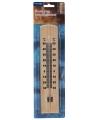 Thermometer binnen buiten hout