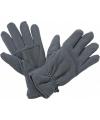 Thinsulate fleece handschoenen donkergrijs