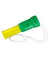Toeter groen geel 15 cm