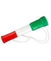 Toeter groen wit rood 20 cm